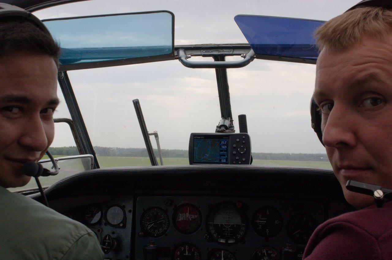 Наш пилот и Вова