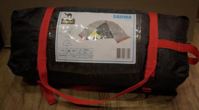 TRAMP Sarma. Палатка в упакованном виде