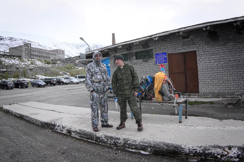 Тёма и Вова на станции